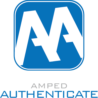 Amped Authenticate Logo