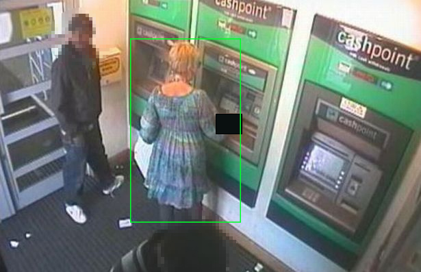 CCTV Footage after CCTV Redaction Applied